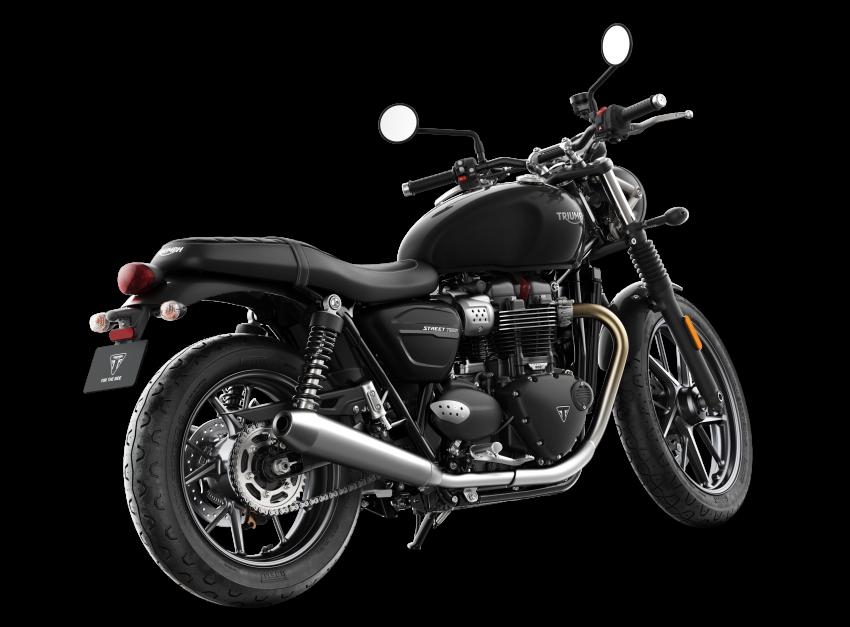 2019 Triumph Street Twin model update, more power Image #868850