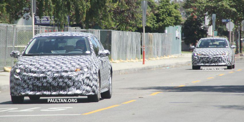 Toyota Corolla Sedan generasi ke-12 bakal didedahkan tahun ini, dengan muka hampir seiras versi <em>hatchback</em> Image #868640