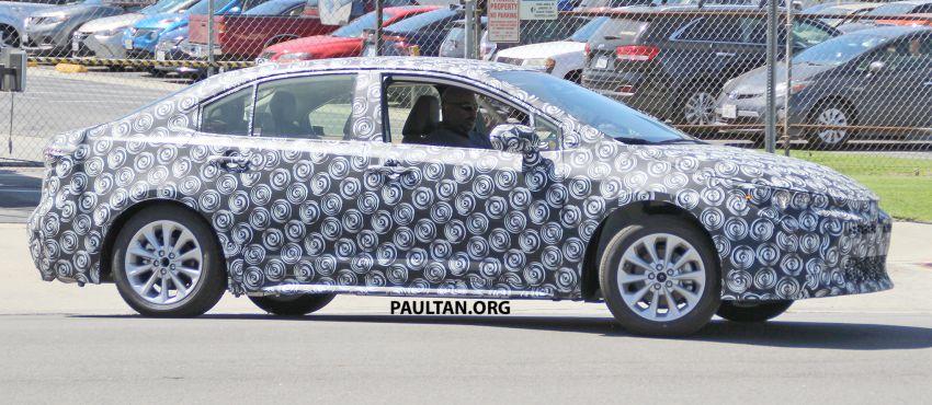 Toyota Corolla Sedan generasi ke-12 bakal didedahkan tahun ini, dengan muka hampir seiras versi <em>hatchback</em> Image #868621