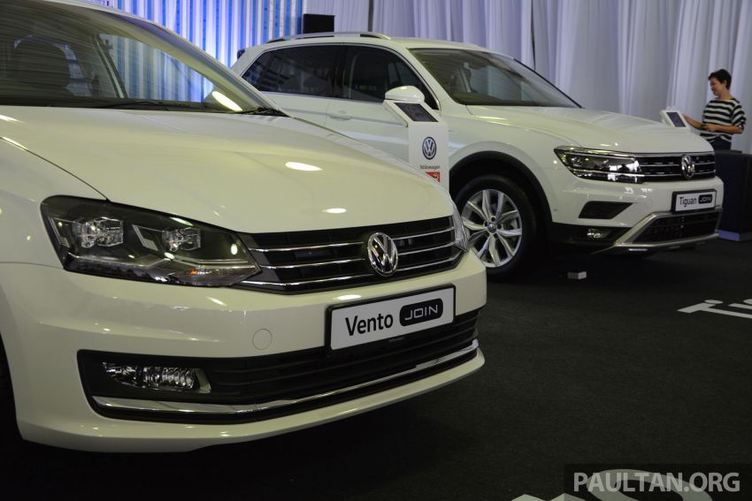 Volkswagen unveils 'JOIN' special editions of Polo, Vento, Tiguan and Passat – sold only on Lazada Image #873074