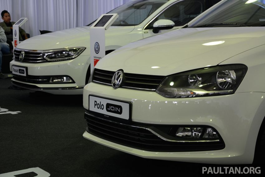 Volkswagen unveils 'JOIN' special editions of Polo, Vento, Tiguan and Passat – sold only on Lazada Image #873075