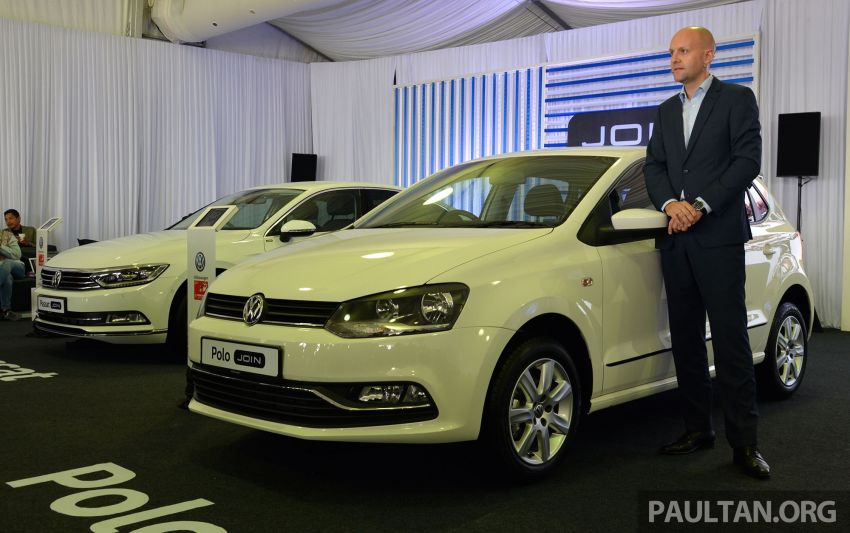 Volkswagen unveils 'JOIN' special editions of Polo, Vento, Tiguan and Passat – sold only on Lazada Image #873076