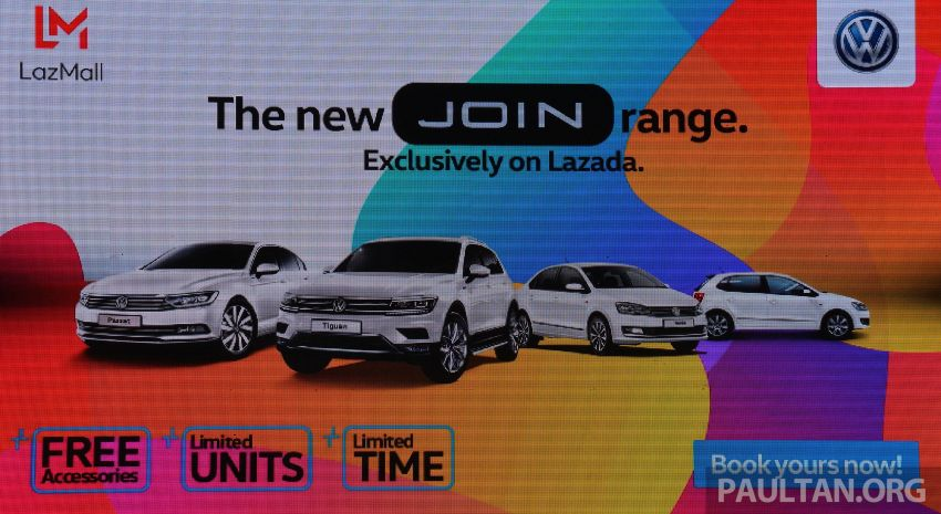 Volkswagen unveils 'JOIN' special editions of Polo, Vento, Tiguan and Passat – sold only on Lazada Image #873078