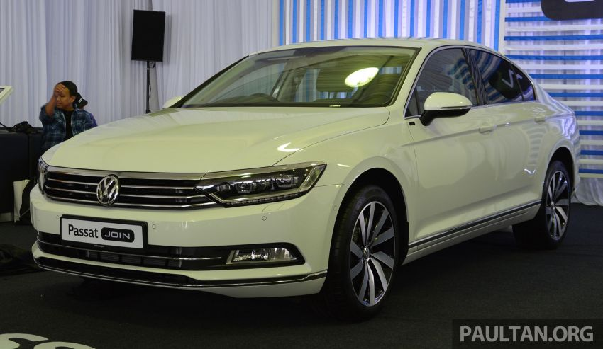 Volkswagen unveils 'JOIN' special editions of Polo, Vento, Tiguan and Passat – sold only on Lazada Image #873067
