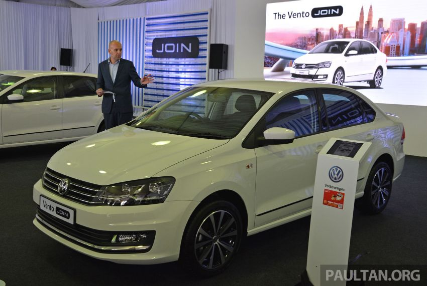 Volkswagen unveils 'JOIN' special editions of Polo, Vento, Tiguan and Passat – sold only on Lazada Image #873048