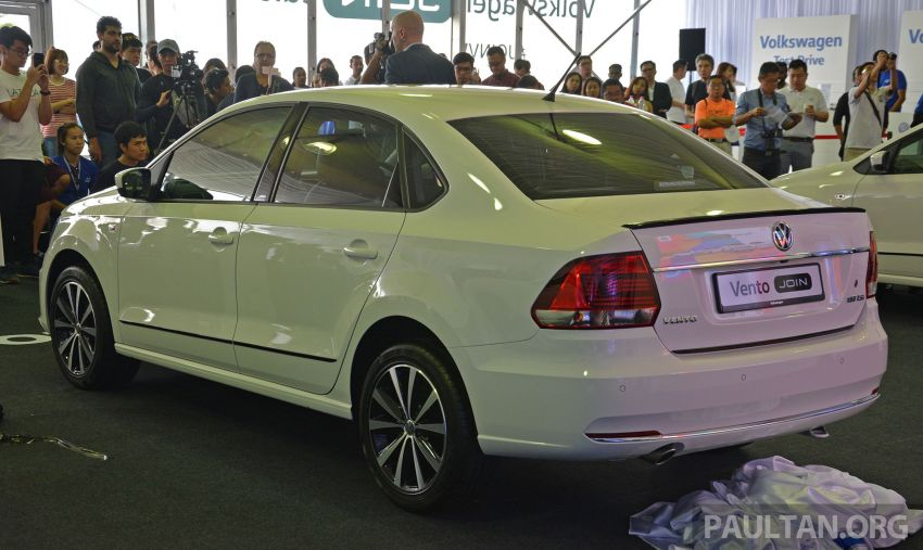 Volkswagen unveils 'JOIN' special editions of Polo, Vento, Tiguan and Passat – sold only on Lazada Image #873049