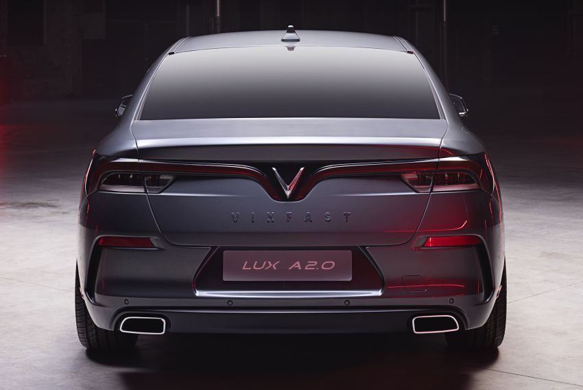 VinFast LUX A2.0 sedan and LUX SA2.0 SUV debut in Paris – BMW-based models to go on sale in June 2019 Image #869079