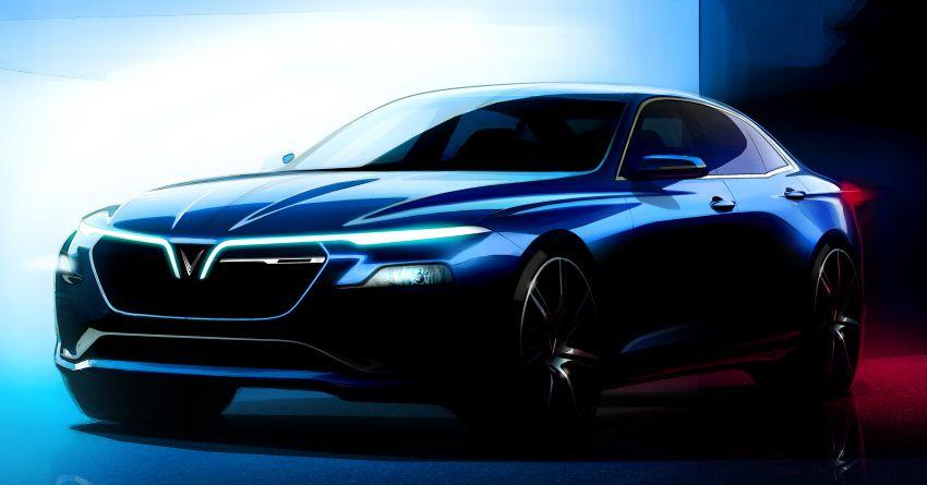 VinFast LUX A2.0 sedan dan LUX SA2.0 SUV – jenama Vietnam berasaskan model BMW muncul di Paris Image #869321