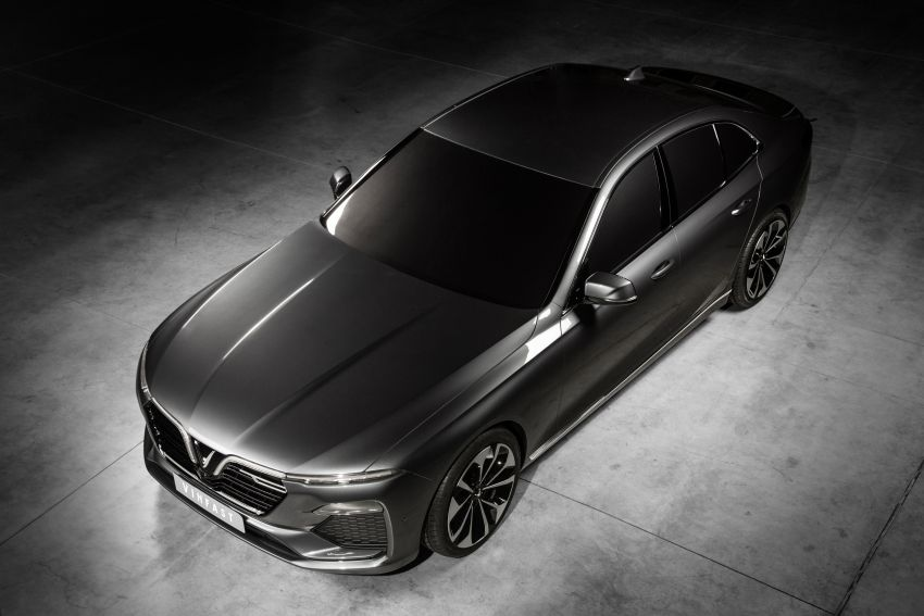 VinFast LUX A2.0 sedan and LUX SA2.0 SUV debut in Paris – BMW-based models to go on sale in June 2019 Image #868533