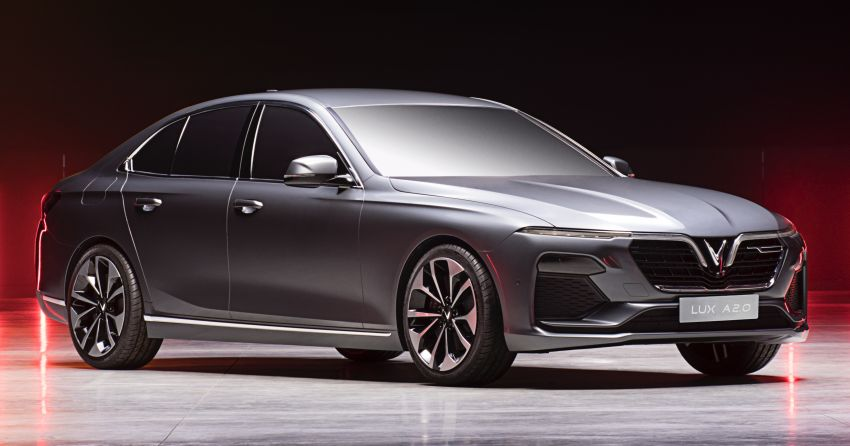 VinFast LUX A2.0 sedan and LUX SA2.0 SUV debut in Paris – BMW-based models to go on sale in June 2019 Image #869071