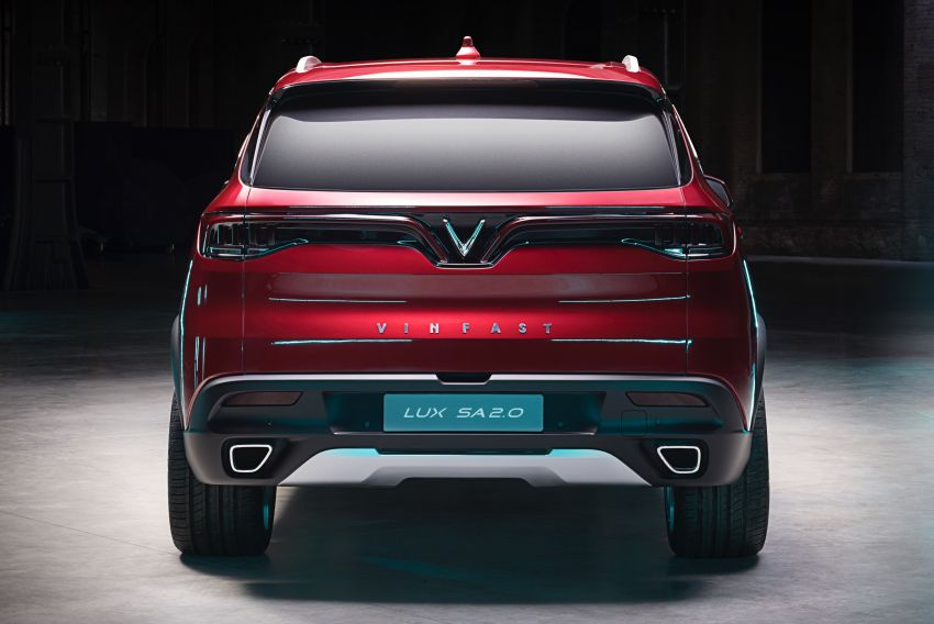 VinFast LUX A2.0 sedan and LUX SA2.0 SUV debut in Paris – BMW-based models to go on sale in June 2019 Image #869084