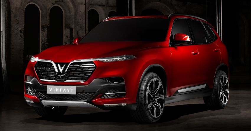 VinFast LUX A2.0 sedan and LUX SA2.0 SUV debut in Paris – BMW-based models to go on sale in June 2019 Image #868566