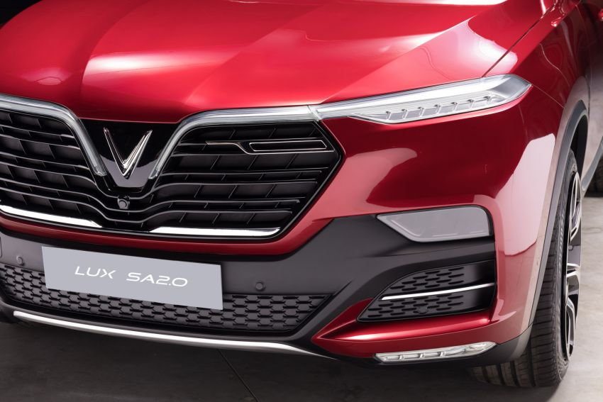 VinFast LUX A2.0 sedan and LUX SA2.0 SUV debut in Paris – BMW-based models to go on sale in June 2019 Image #867068