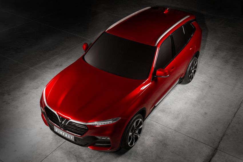 VinFast LUX A2.0 sedan and LUX SA2.0 SUV debut in Paris – BMW-based models to go on sale in June 2019 Image #868580