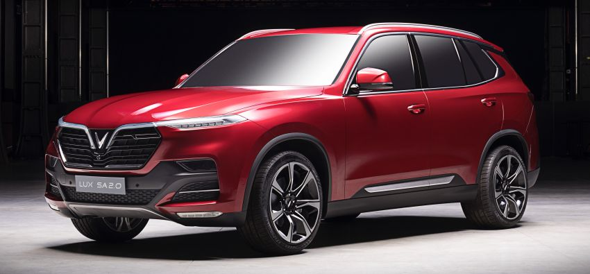 VinFast LUX A2.0 sedan and LUX SA2.0 SUV debut in Paris – BMW-based models to go on sale in June 2019 Image #869074