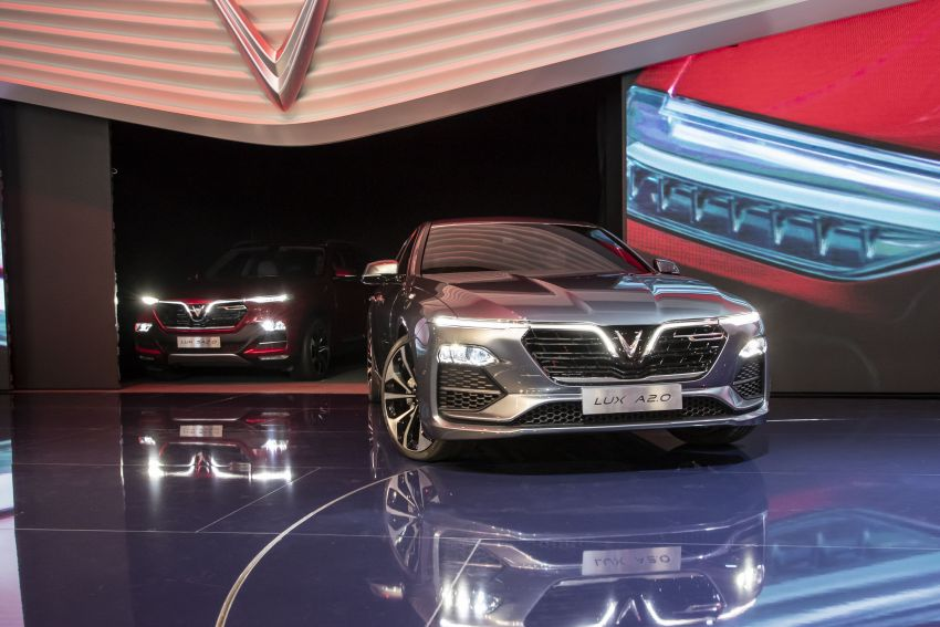 VinFast LUX A2.0 sedan and LUX SA2.0 SUV debut in Paris – BMW-based models to go on sale in June 2019 Image #868792