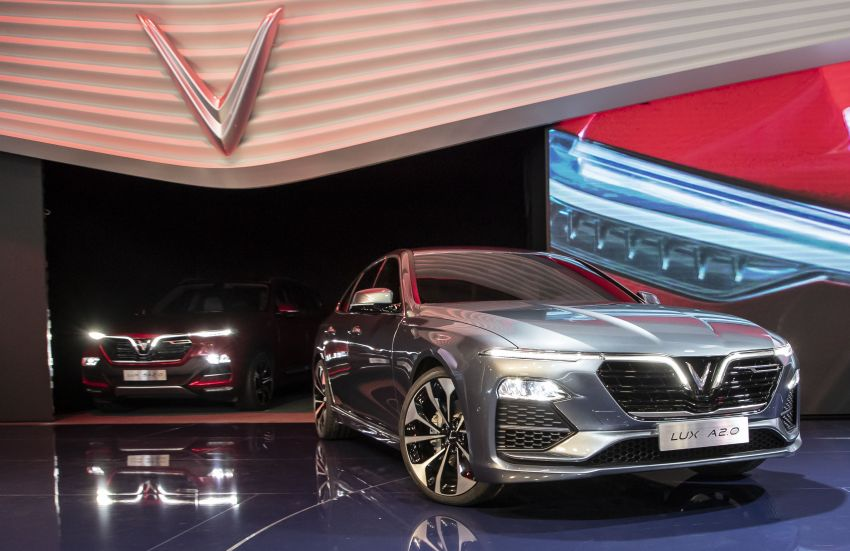 VinFast LUX A2.0 sedan and LUX SA2.0 SUV debut in Paris – BMW-based models to go on sale in June 2019 Image #868793