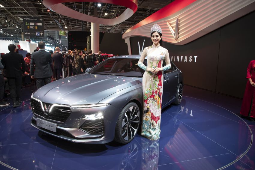 VinFast LUX A2.0 sedan and LUX SA2.0 SUV debut in Paris – BMW-based models to go on sale in June 2019 Image #868796