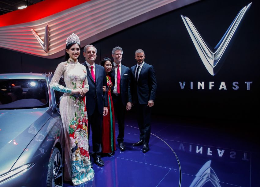 VinFast LUX A2.0 sedan and LUX SA2.0 SUV debut in Paris – BMW-based models to go on sale in June 2019 Image #868773