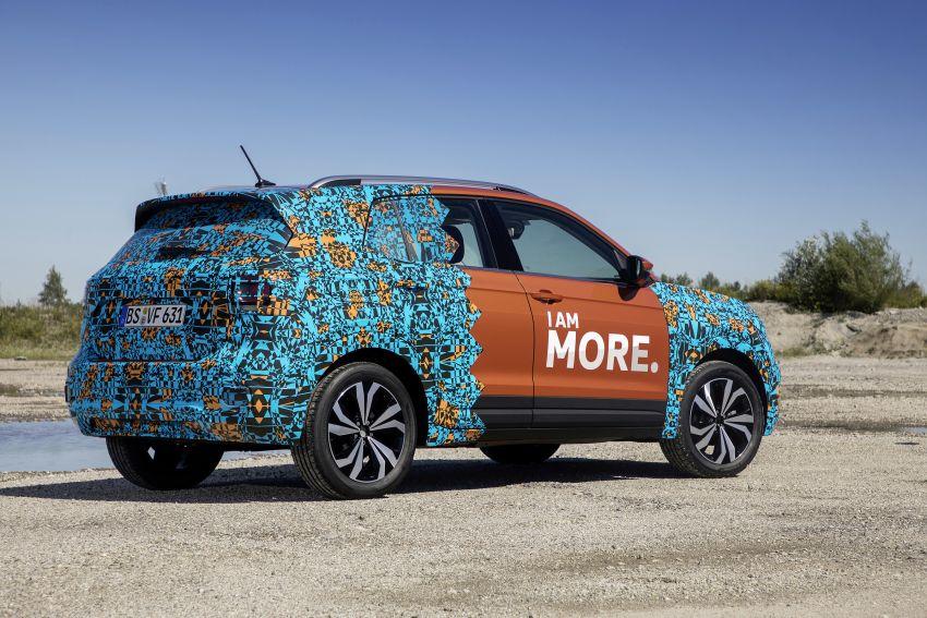 Volkswagen T-Cross SUV teased again ahead of debut Image #870809