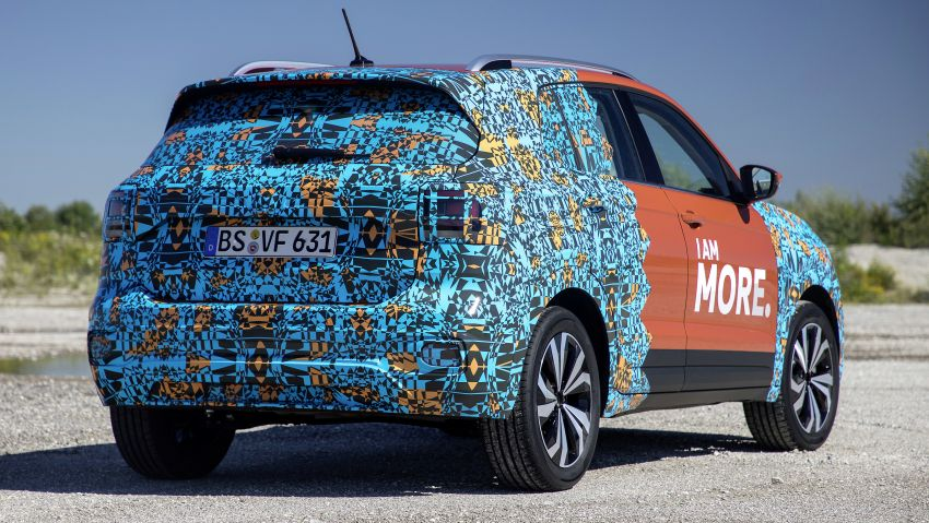 Volkswagen T-Cross SUV teased again ahead of debut Image #870810