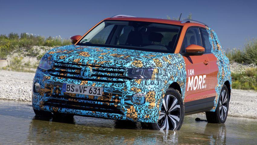 Volkswagen T-Cross SUV teased again ahead of debut Image #870811