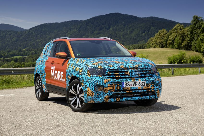 Volkswagen T-Cross SUV teased again ahead of debut Image #870812