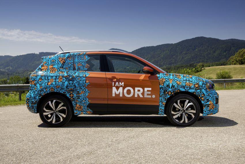 Volkswagen T-Cross SUV teased again ahead of debut Image #870813