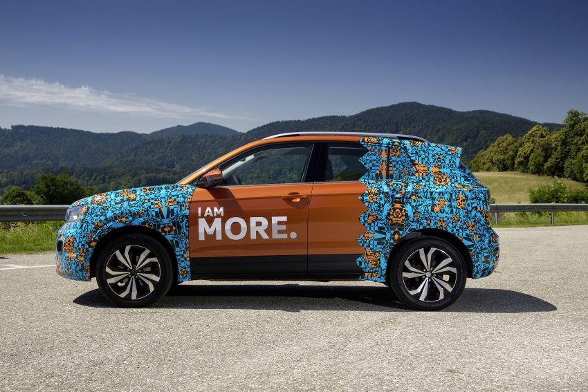 Volkswagen T-Cross SUV teased again ahead of debut Image #870814