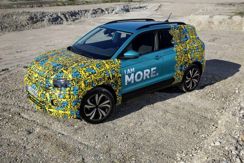 Volkswagen T-Cross SUV teased again ahead of debut Image #870799