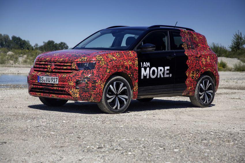 Volkswagen T-Cross SUV teased again ahead of debut Image #870817