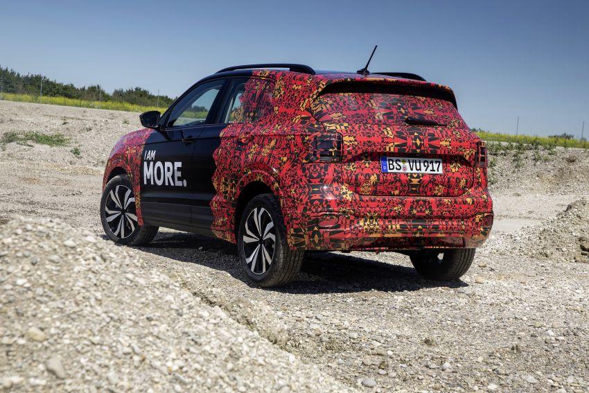 Volkswagen T-Cross SUV teased again ahead of debut Image #870819