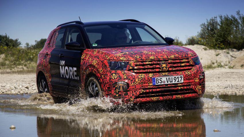 Volkswagen T-Cross SUV teased again ahead of debut Image #870820