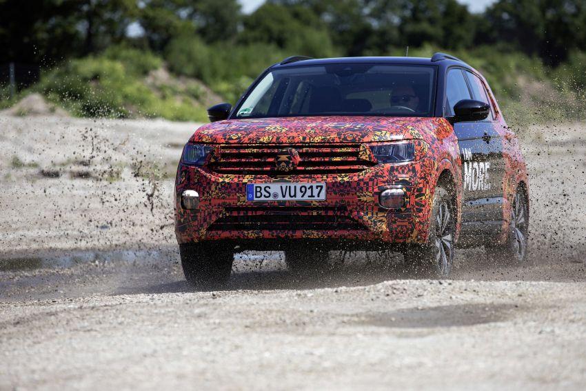 Volkswagen T-Cross SUV teased again ahead of debut Image #870821