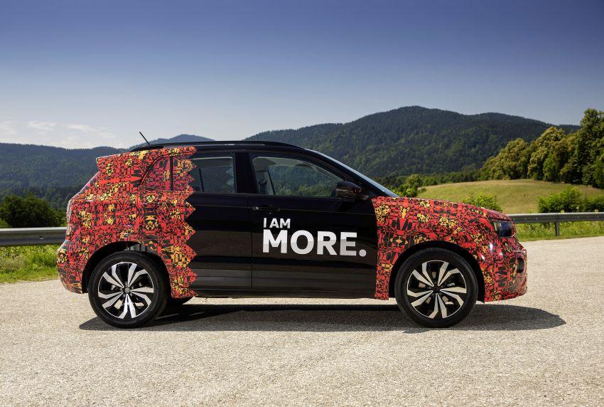 Volkswagen T-Cross SUV teased again ahead of debut Image #870823
