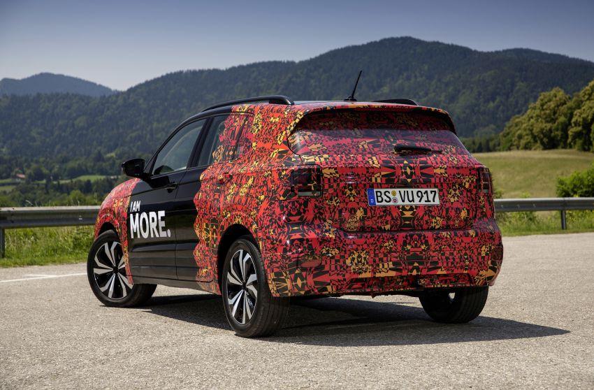 Volkswagen T-Cross SUV teased again ahead of debut Image #870824