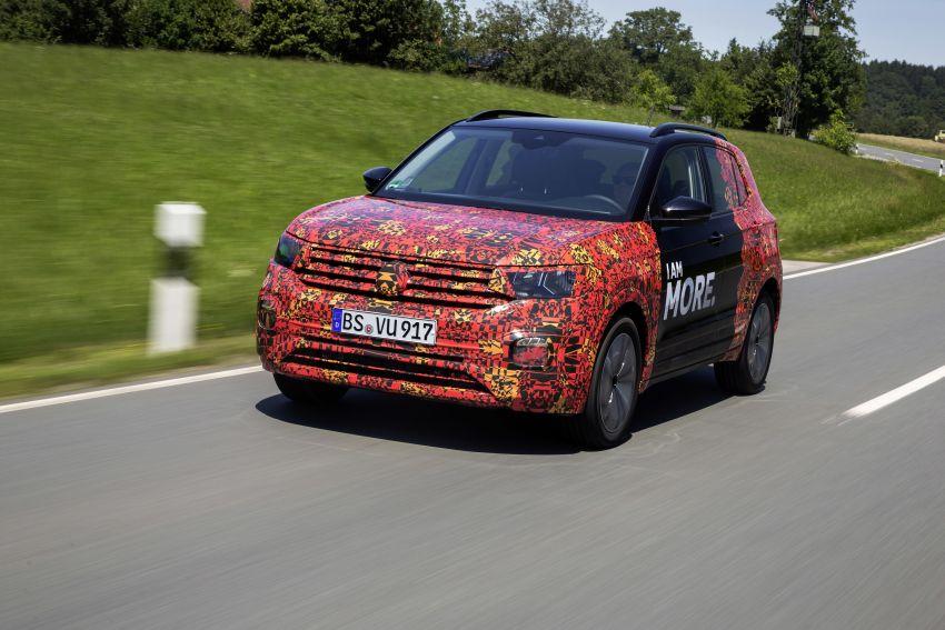 Volkswagen T-Cross SUV teased again ahead of debut Image #870825