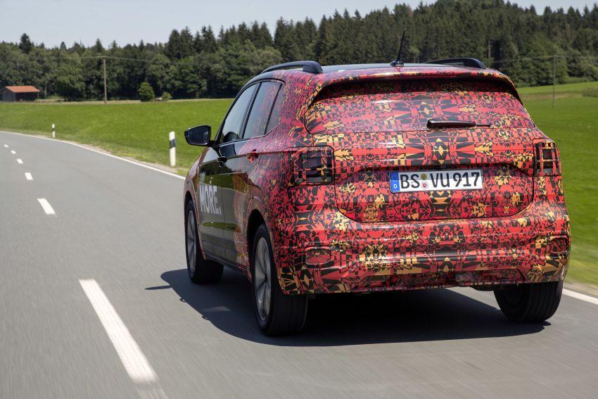 Volkswagen T-Cross SUV teased again ahead of debut Image #870826