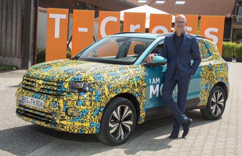 Volkswagen T-Cross SUV teased again ahead of debut Image #870827