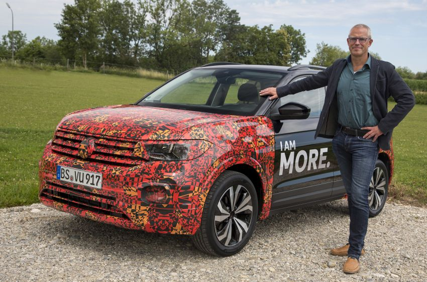 Volkswagen T-Cross SUV teased again ahead of debut Image #870828