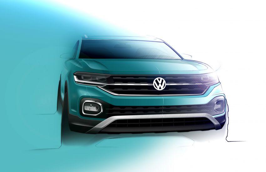 Volkswagen T-Cross SUV teased again ahead of debut Image #870832