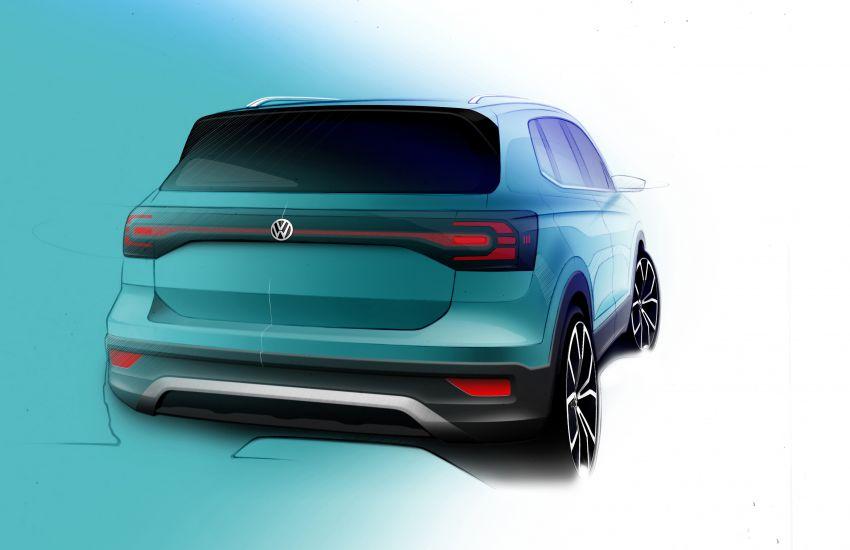 Volkswagen T-Cross SUV teased again ahead of debut Image #870833