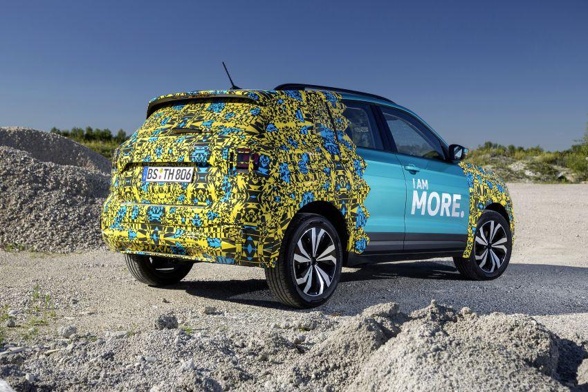 Volkswagen T-Cross SUV teased again ahead of debut Image #870801