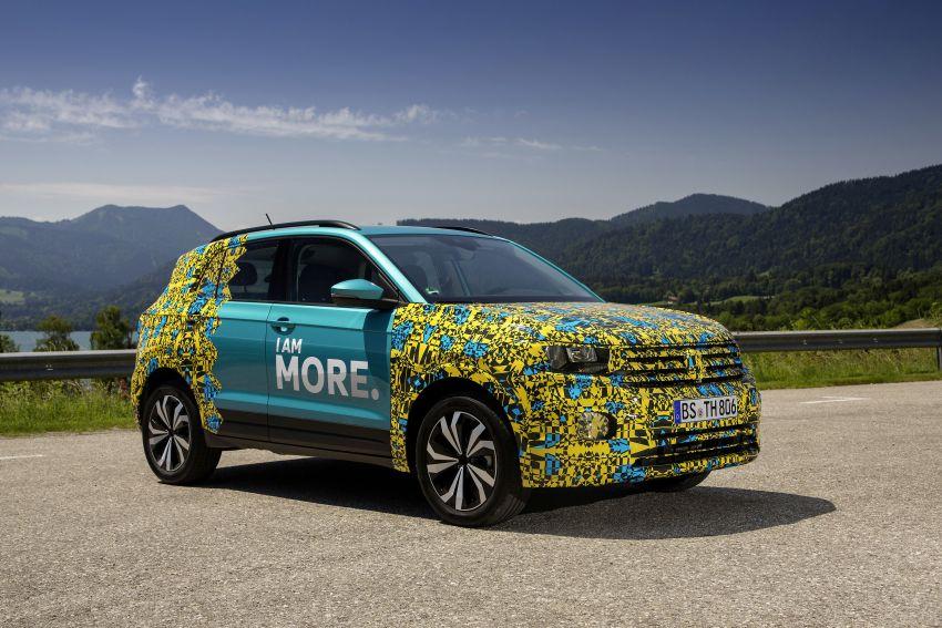 Volkswagen T-Cross SUV teased again ahead of debut Image #870802
