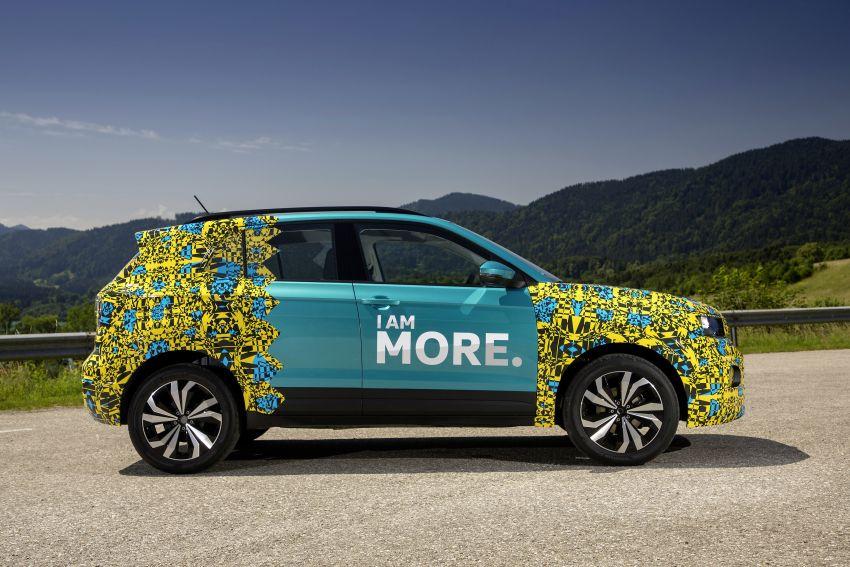 Volkswagen T-Cross SUV teased again ahead of debut Image #870803