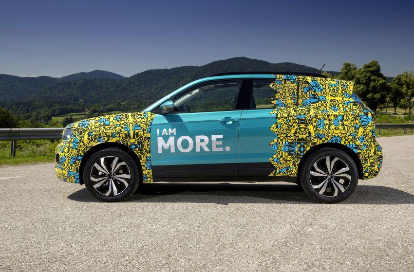 Volkswagen T-Cross SUV teased again ahead of debut Image #870804