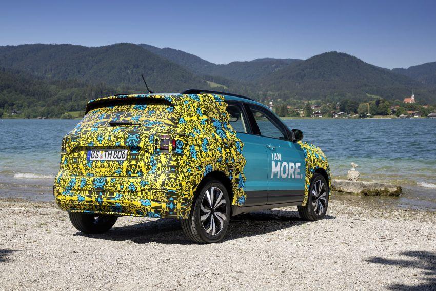 Volkswagen T-Cross SUV teased again ahead of debut Image #870806