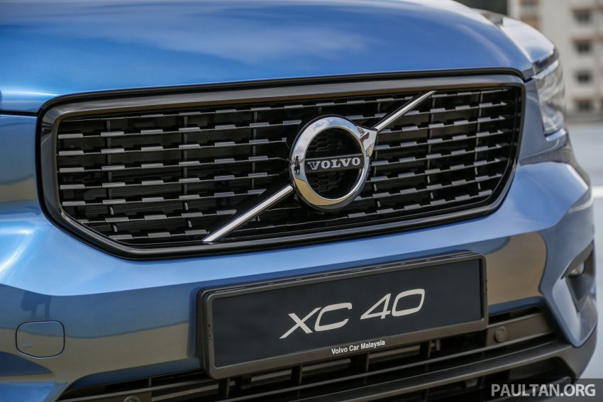 All-new Volvo XC40 SUV launched in Malaysia – single T5 AWD R-Design spec, CKD for RM255,888 Image #870170
