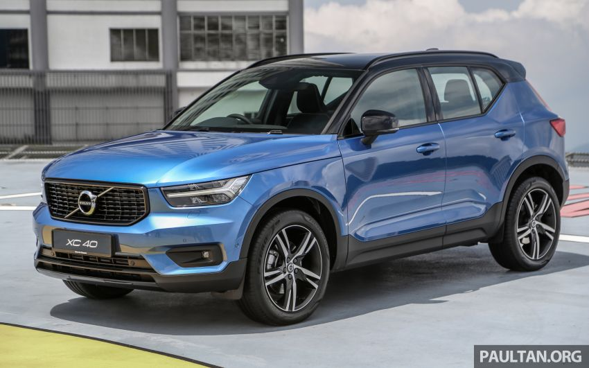 All-new Volvo XC40 SUV launched in Malaysia – single T5 AWD R-Design spec, CKD for RM255,888 Image #870162