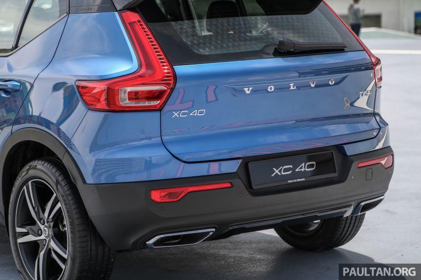 Volvo XC40 dilancarkan di Malaysia – varian tunggal T5 AWD R-Design, CKD pada harga RM255,888 Image #870349